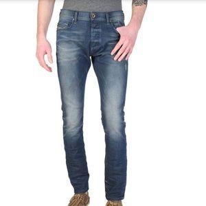 Diesel Tepphar Slim Carrot distressed jeans
